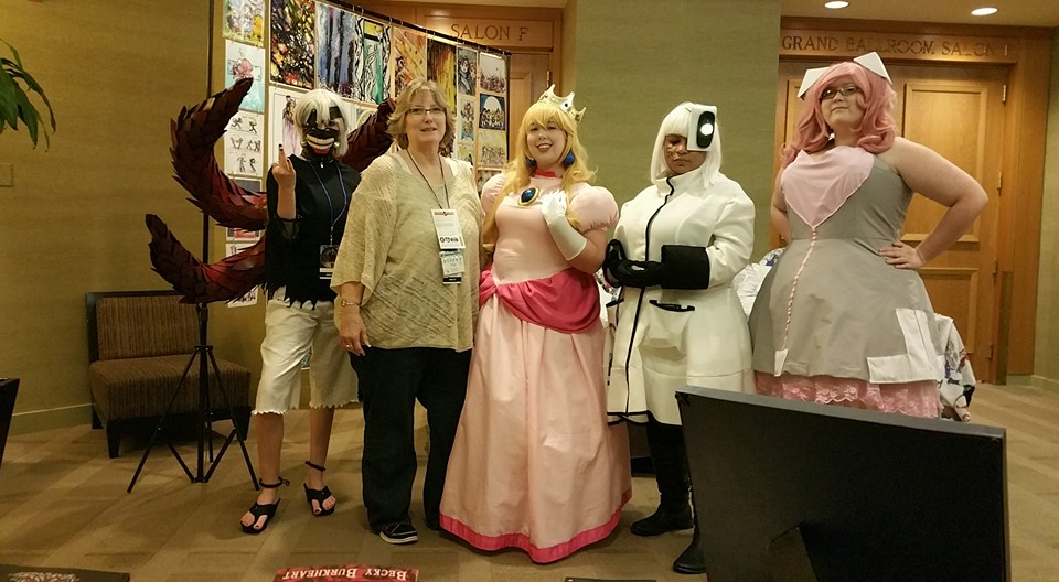 the girls at allcon